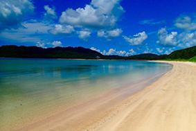 西表島の浜